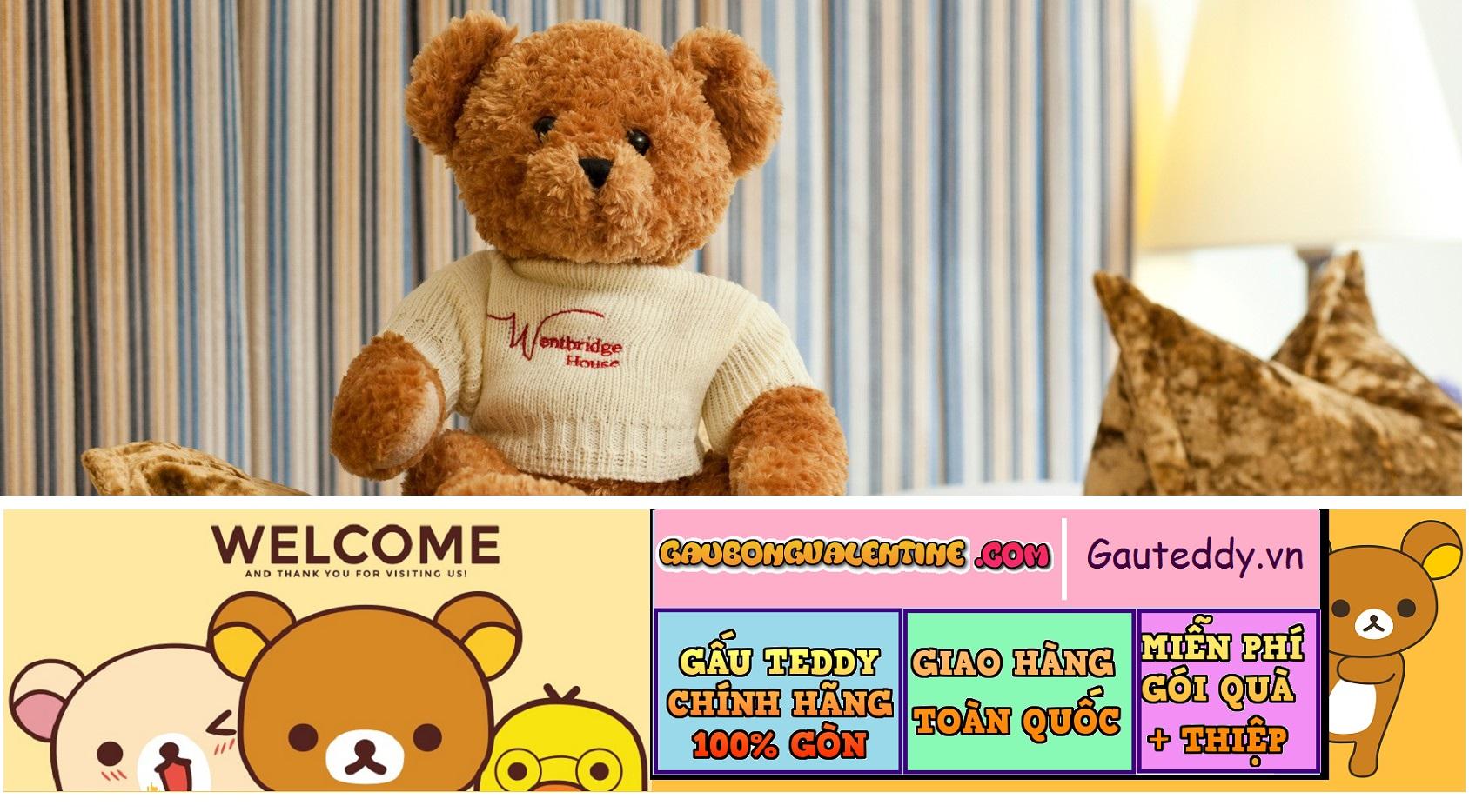 Gấu Teddy - Gauteddy.vn shop Chuyên GẤU BÔNG ĐẸP , Size To , Thú Bông Nhập Khẩu 100% GÒN tại TP.HCM