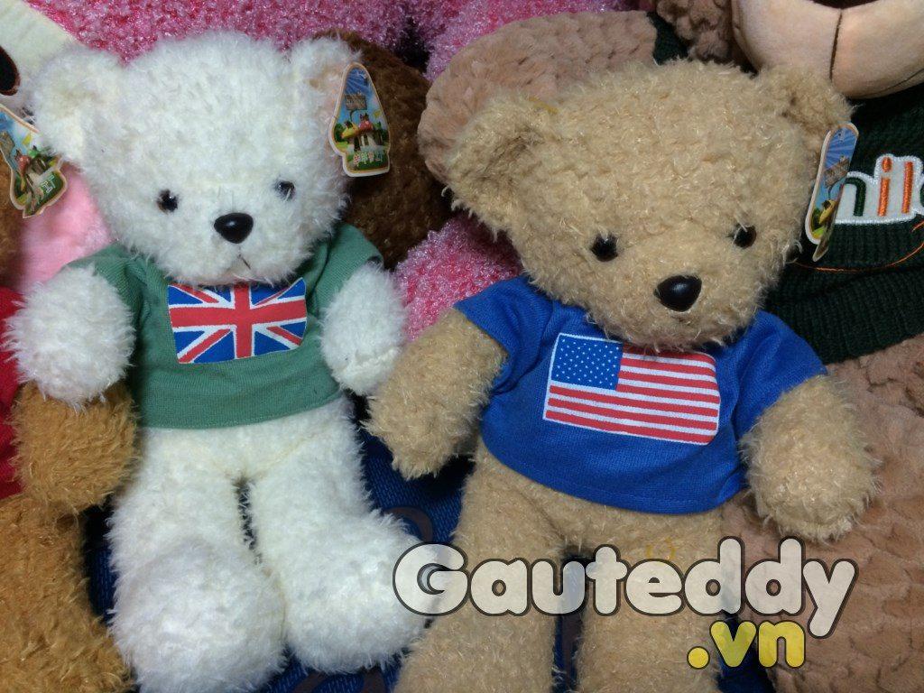 Gấu Bông Cờ Mỹ