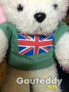 Gấu Bông Cờ Anh