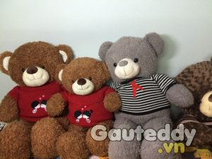 Gấu Teddy Kissing - gauteddy.vn