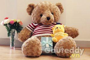 Gấu Teddy cờ mỹ - gauteddy.vn