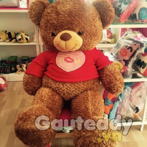 Gấu Teddy Kiss U - gauteddy.vn