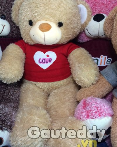 Gấu Teddy Orange Love - gauteddy.vn