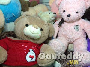 Gấu Teddy Pink Sad - gauteddy.vn