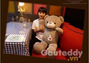 Gấu Bông Áo Baymax - gauteddy.vn