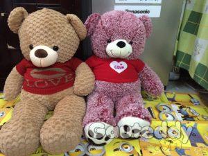 Gấu Bông Love U Hồng