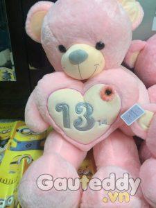 Gấu Teddy Ôm Tim 13/14 - gauteddy.vn
