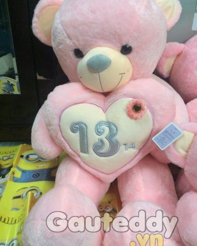 Gấu Teddy Ôm Tim 13/14 – gauteddy.vn