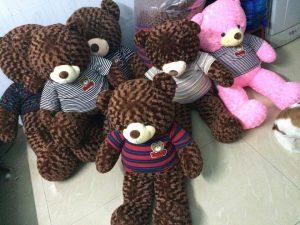Gấu bông kém chất lượng