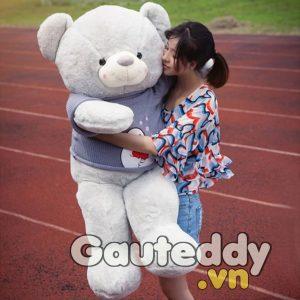 Gấu Bông Baymax Xám