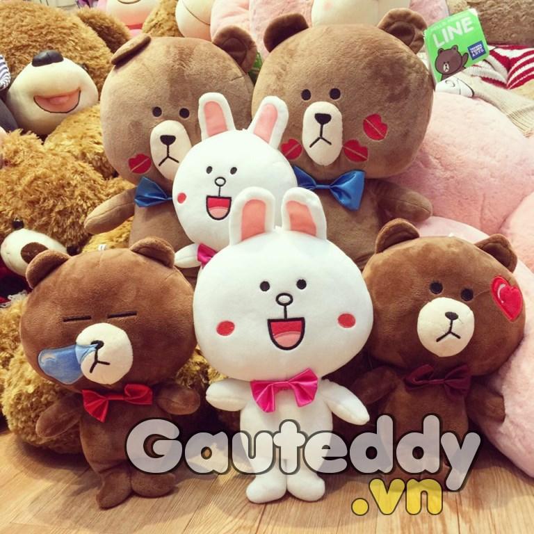 Gấu Brown - Thỏ Cony