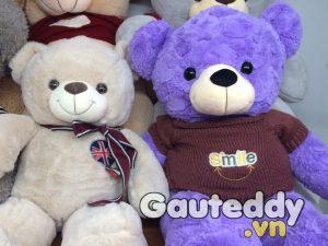 Gấu Bông Teddy Logo Cờ Anh