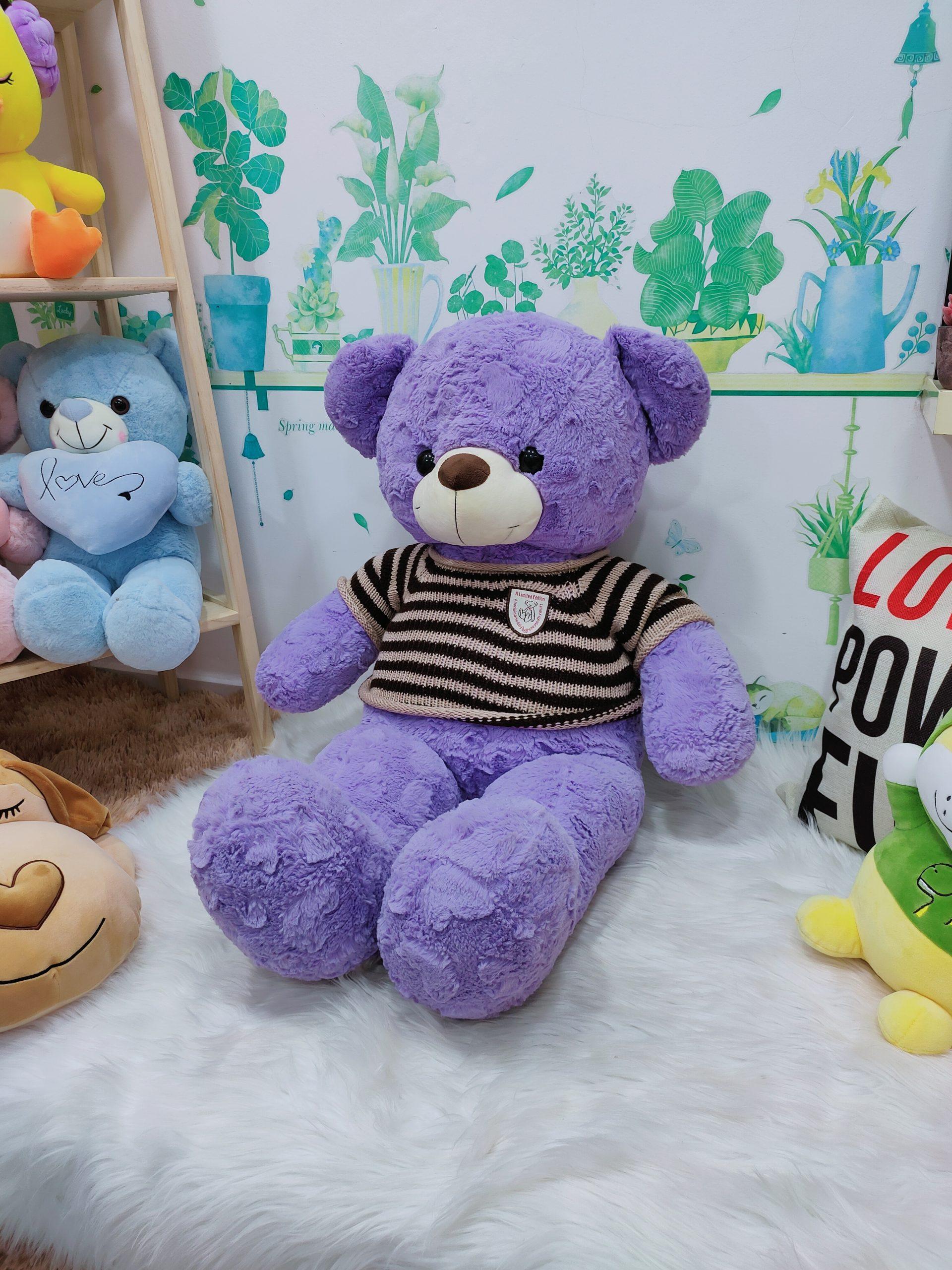 Gấu Bông Jesse Tím
