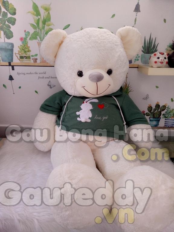 Gấu Teddy Bunny Trắng