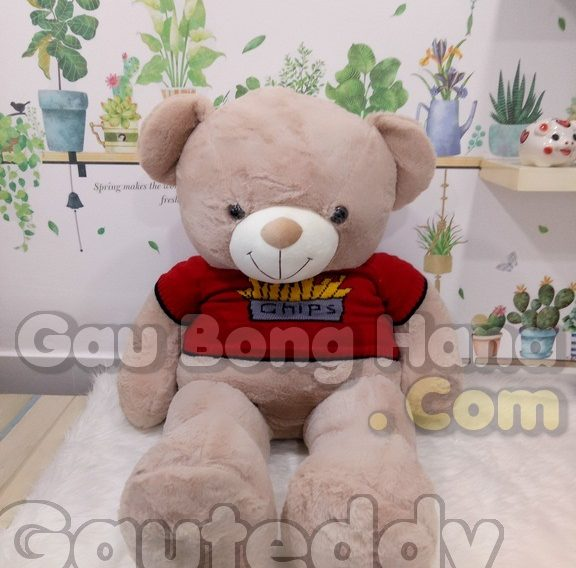 Gấu Teddy Chips Nâu