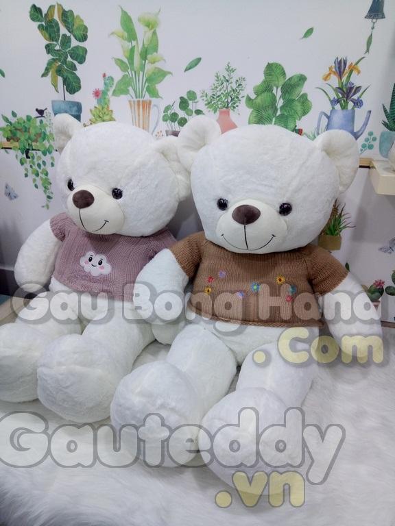 Gấu Teddy Loving U Áo Hoa