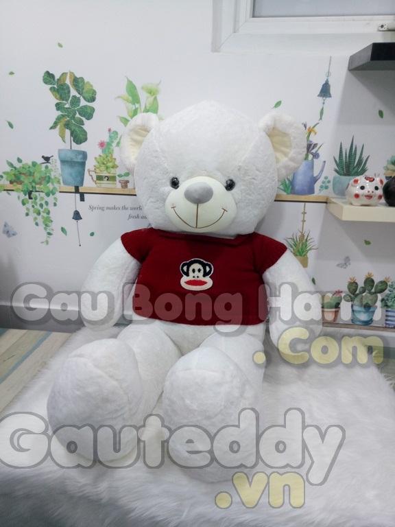 Gấu Teddy Loving U Áo Đỏ