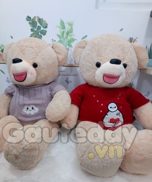 Gấu Teddy Snowman