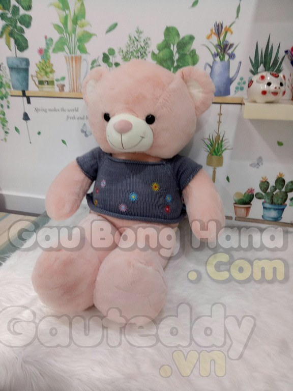 Gấu Teddy Floweret Xám