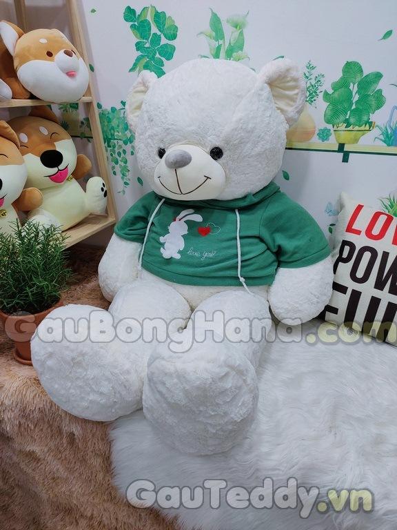 Teddy Bunny Trắng