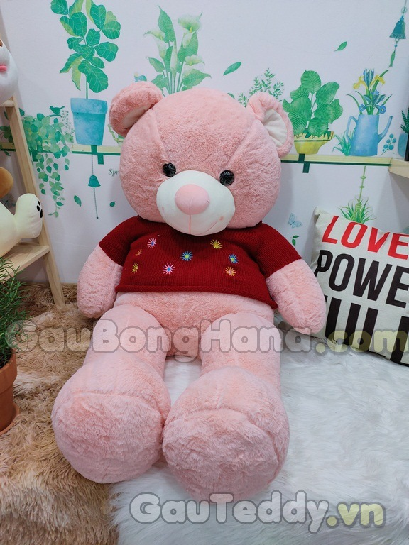 Gấu Bông Teddy Floweret