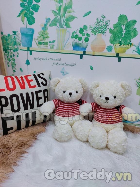Gấu Teddy Bub Trắng