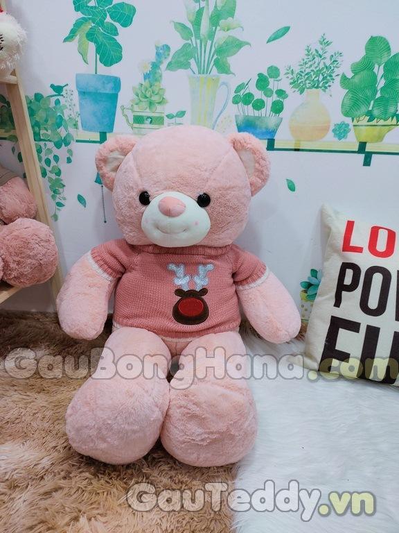 Gấu Bông Pink Smile