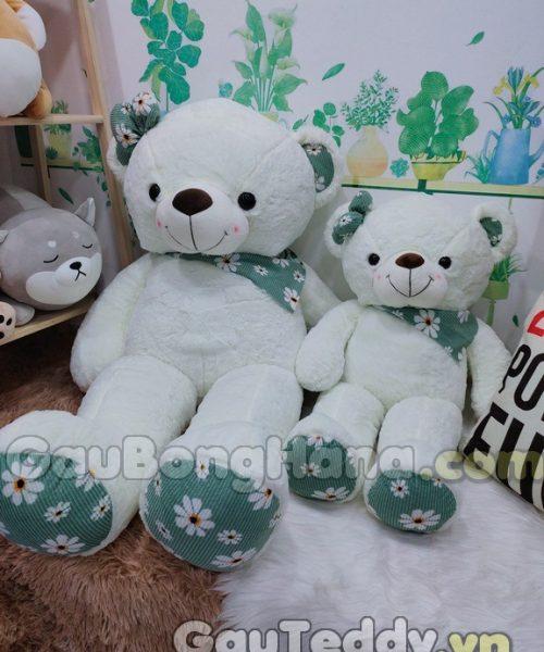 Gấu Bông SaSa Trắng