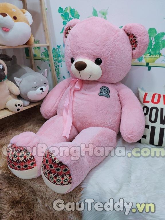 Gấu Bông Pink Pattern