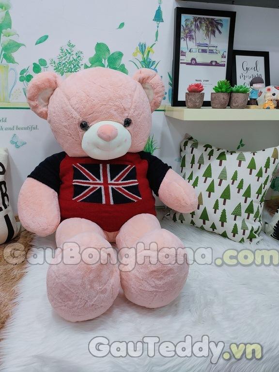 Gấu Bông Áo Cờ Anh