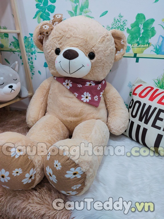 Gấu Bông SaSa Nâu