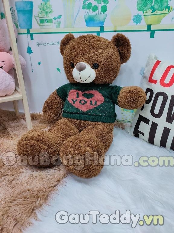Gấu Bông Áo Len