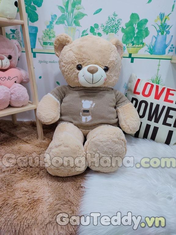 Gấu Bông Nâu Áo Gấu