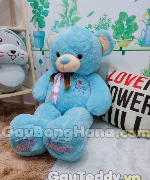 Gấu Bông Mochi Xanh Dương