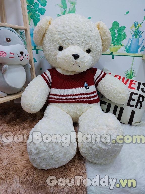 Gấu Bông Pob Trắng Áo Đỏ