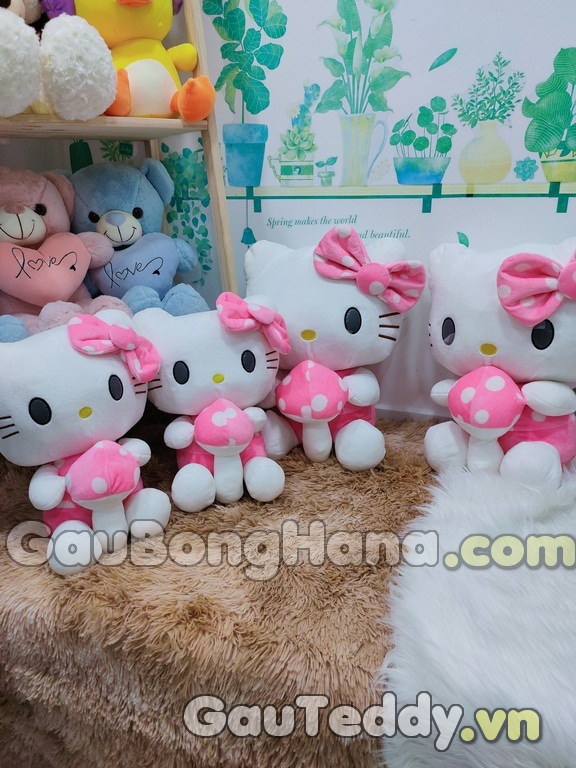 Mèo Bông Hello Kitty