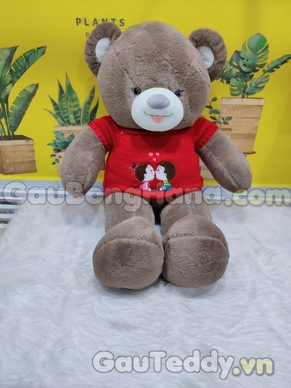 Gấu Bông Couple Nâu